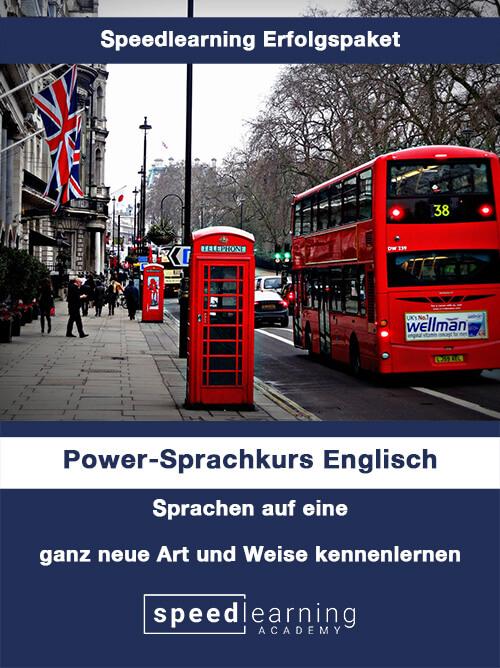Speedlearning Erfolgspaket Power-Sprachkurs Englisch