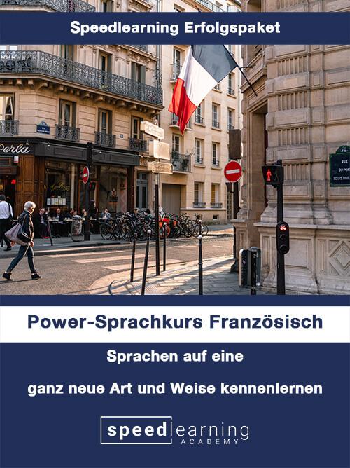Speedlearning Erfolgspaket Power-Sprachkurs Französisch