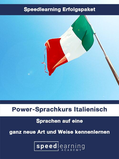 Speedlearning Erfolgspaket Power-Sprachkurs Italienisch